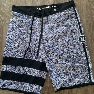Hurley Black Board Shorts